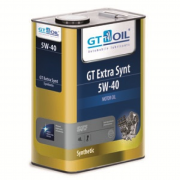 GT Oil Extra Synt 5W-40 4л синтетическое